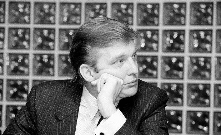Дональд Трамп в 1984 году