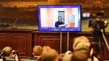 Рассмотрение жалобы на арест А. Навального