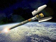 Космический телескоп Европейского космического агентства Gaia в представлении художника