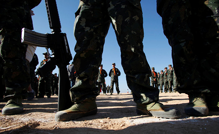 Солдаты в Мьянме