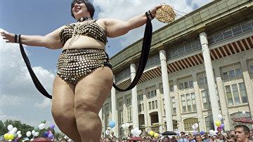 Конкурс толстушек