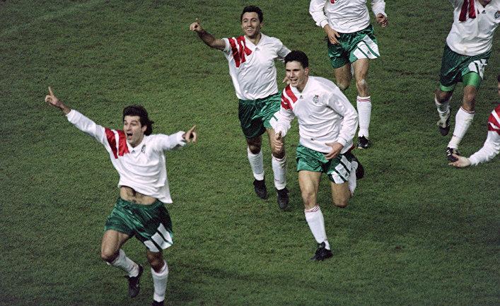 Болгарские футболисты