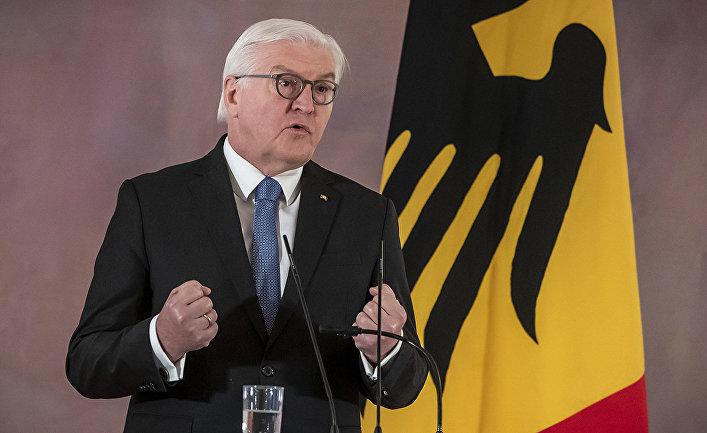 Немецкий политик Франк-Вальтер Штайнмайер