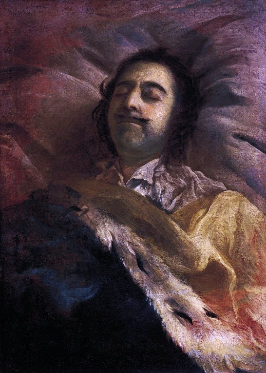 Пётр I на смертном одре