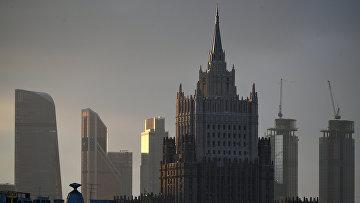 Здание МИДа в Москве