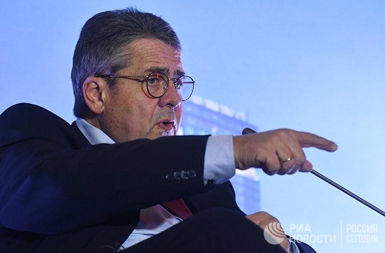 Бывший вице-канцлер Германии Зигмар Габриэль