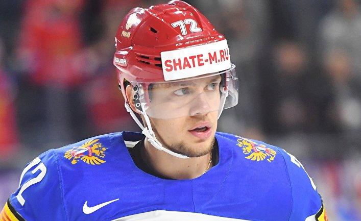 Хоккеист Артемий Панарин
