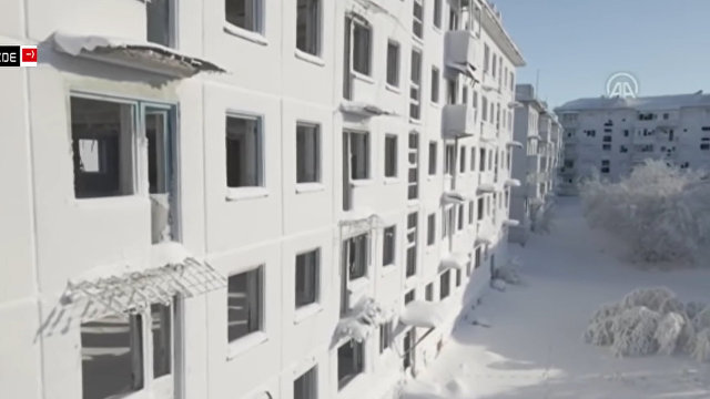 Daily Mail (Великобритания): российский город-призрак заледенел в пятидесятиградусный мороз
