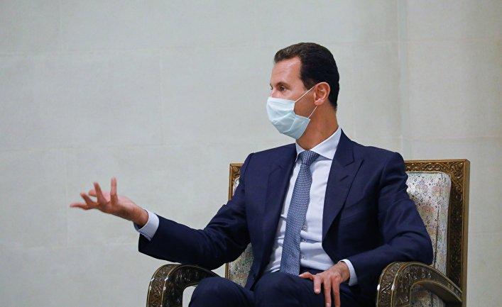 Президент Сирийской Арабской Республики Башар Асад