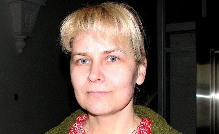 Эстонская журналистка Астрид Каннель