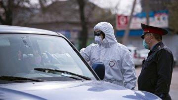 Бишкек во время пандемии коронавируса