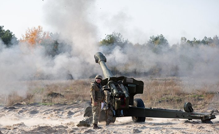 Военный полигон в Киевской области