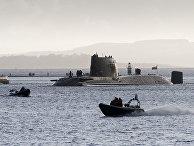 Британская атомная подлодка HMS Astute в заливе Ферт-оф-Сайлд