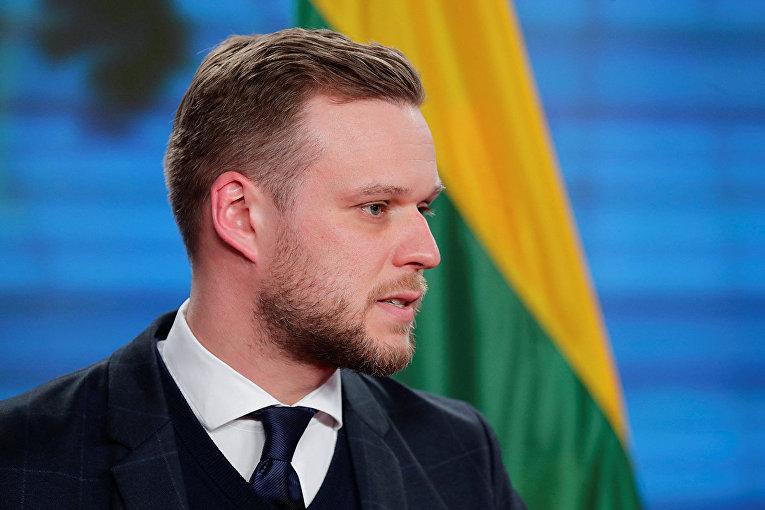 Глава МИД Литвы Габриэлюс Ландсбергис