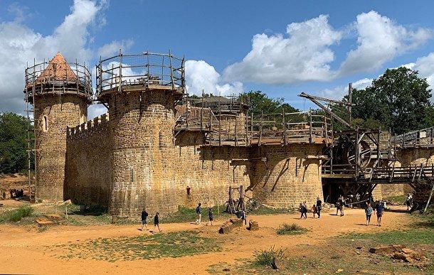 Замок Геделон в 2019 году