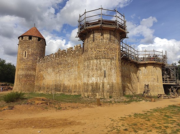 Замок Геделон в 2020 году