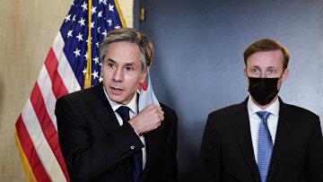 Переговоры делегаций США и Китая на Аляске, март 2021