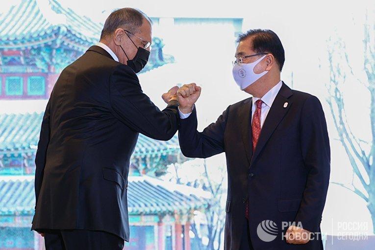 Визит главы МИД РФ С. Лаврова в Южную Корею