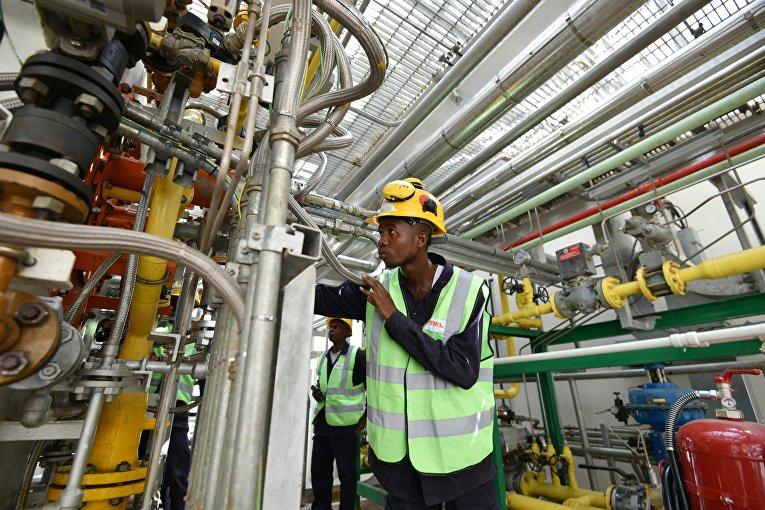 Технический специалист на тепловой электростанции в Абиджане, Кот-д'Ивуар