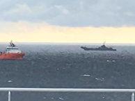 """Корабли и самолеты НАТО препятствуют строительству """"Северного потока – 2"""""""