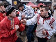 Масленичные гуляния в Москве
