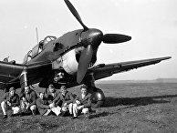 Немецкий бомбардировщик Юнкерс Ю-87 «Штука»
