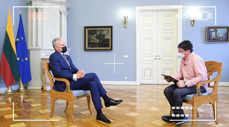 Интервью президента Литвы