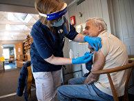 Вакцинация от covid-19 в Стокгольме, Швеция