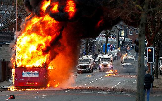 Беспорядки Белфасте