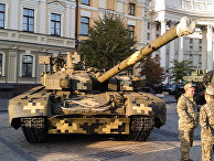 Украинский танк Т-84 БМ «Оплот»