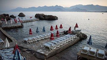 Ситуация на курортах Турции в связи со спадом туристического потока из России