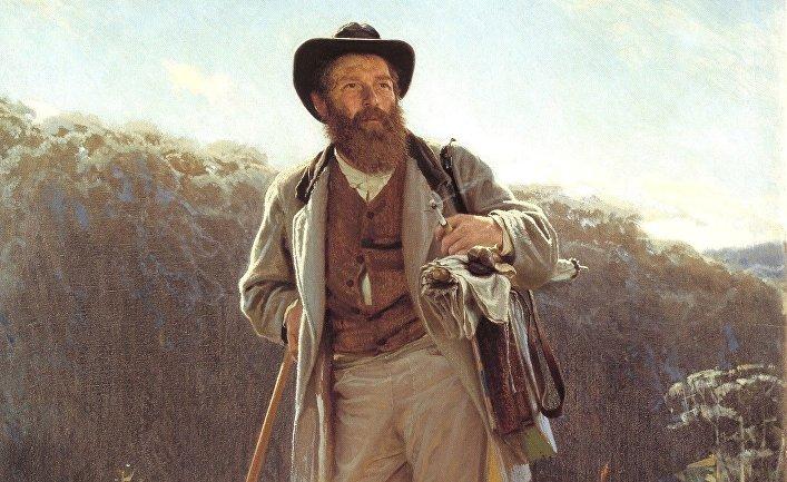 Портрет И. И. Шишкина