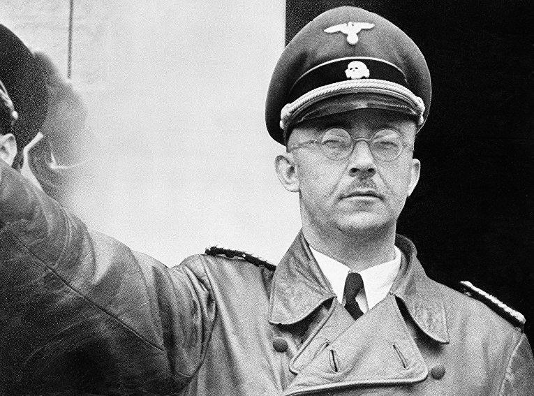 Рейхсфюрер СС Генрих Гиммлер