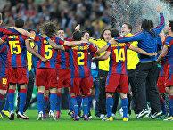 "Футбол. Лига Чемпионов. Матч ""Барселона"" - ""Манчестер Юнайтед"""
