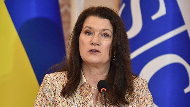 Dagens Nyheter (Швеция): Анн Линде напрямую разговаривает с Украиной и Россией