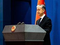 Официальный представитель МИД КНР Ван Вэньбинь