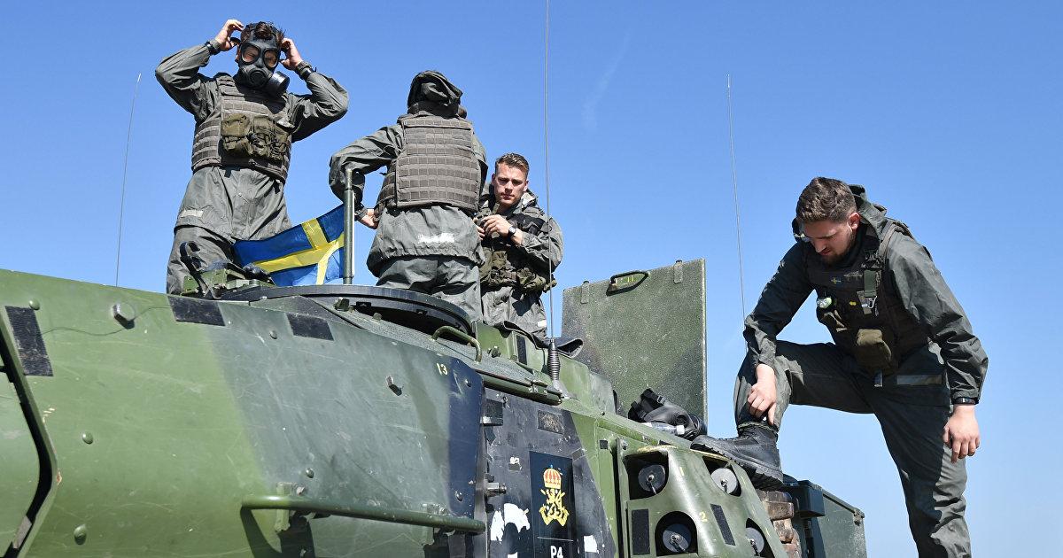 Dagens Nyheter (Швеция): шведские вооруженные силы проверяют боеготовность во время учений Запад-2021 (Dagens Nyheter)