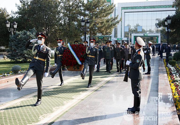 Заседание Комитета начальников штабов вооруженных сил стран СНГ
