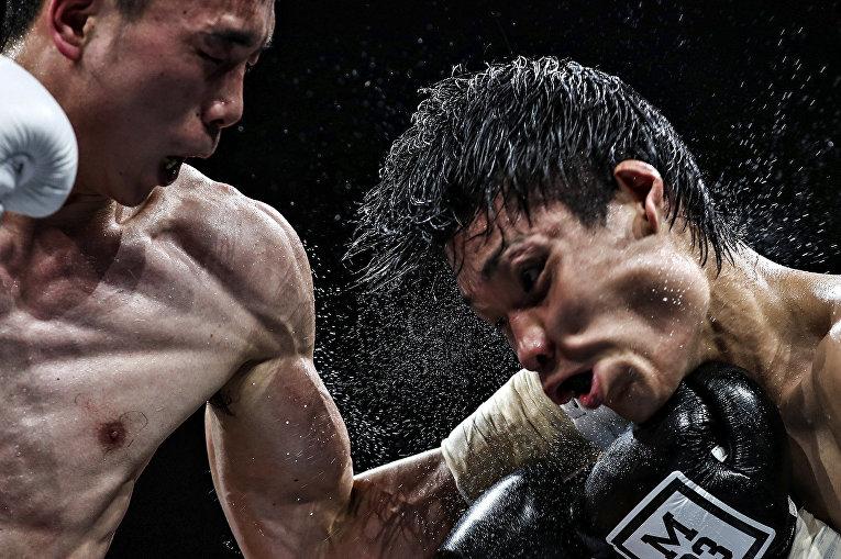 Китайский боксер Сюй Цань