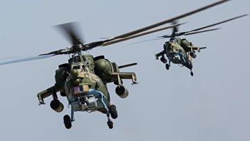 Вертолеты Ми-28Н «Ночной охотник»