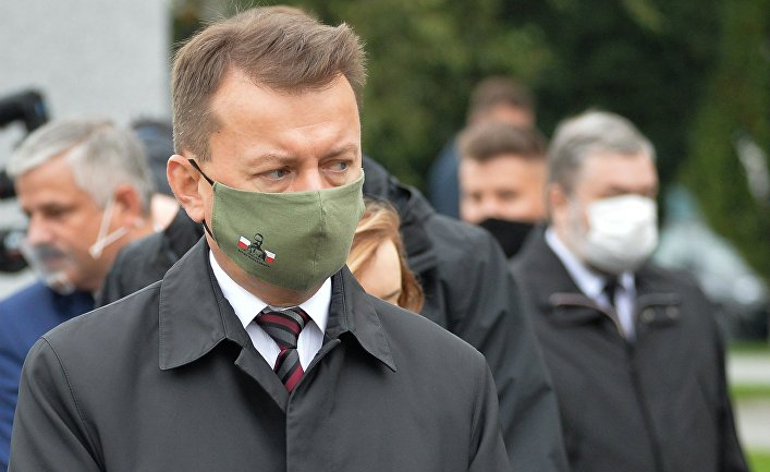 Министр обороны Польши Мариуш Блащак