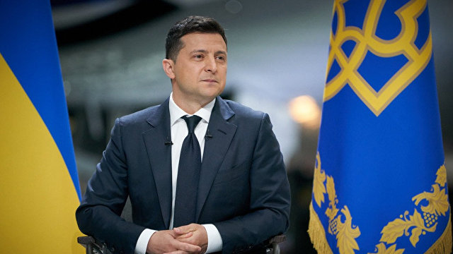 Главред (Украина): пресс-конференция Зеленского  это его заявка на второй президентский срок