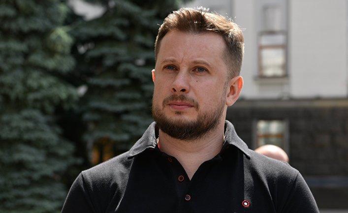 """Лидер партии """"Национальный корпус"""" Андрей Билецкий"""