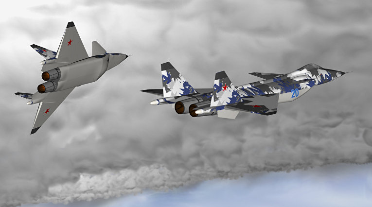 Самолет МиГ 1.44 МФИ
