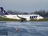 Самолет авиакомпании Polish Airlines (LOT)