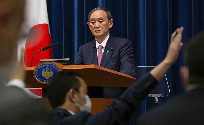 Премьер-министр Японии Ёсихидэ Суга