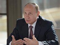 Президент РФ Владимир Путин на встрече с представителями национальных общественных объединений Крыма