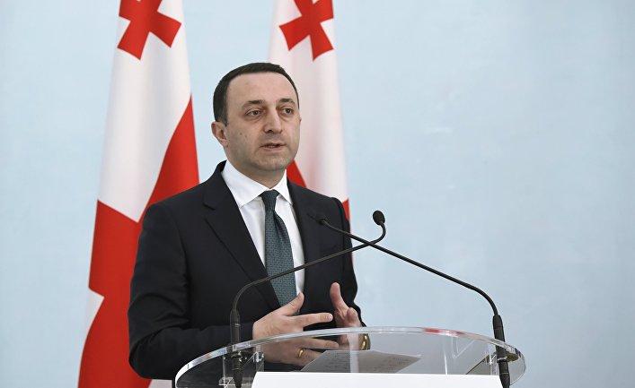 Премьер-министр Грузии Ираклий Гарибашвили