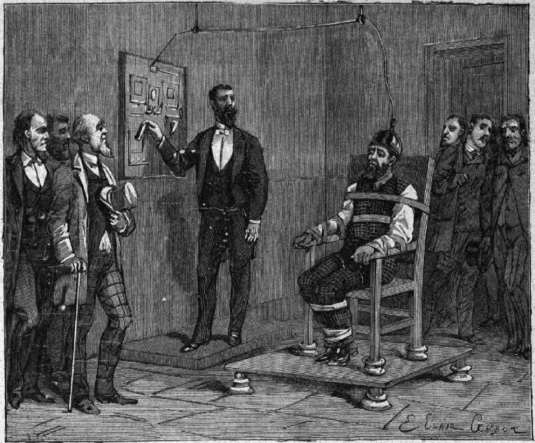 Казнь Уиьяма Кеммлера – первая казнь на электрическом стуле в истории