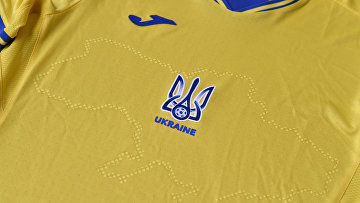Дизайн футболки сборной Украины по футболу на Евро-2020